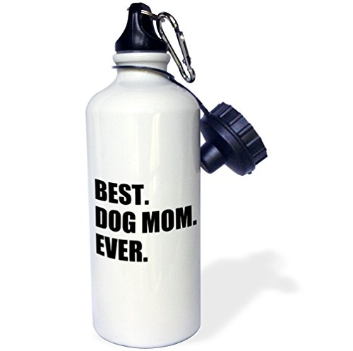 3dRose wb_184993_1 Best Dog Mom Ever - fun pet owner gifts f