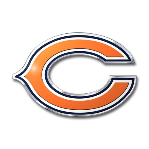 picture of NFL Chicago Bears Die Cut Color Automobile Emblem