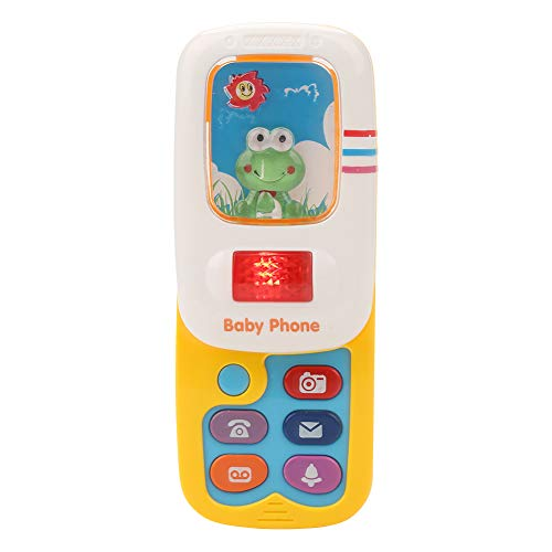 Cell Phone Toy Multi-Functional Mobile Study Phone Education Music Learning Game Play Cellphone Like for Baby Kids Xmas Gift