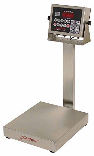 Detecto EB-60-210 Bench Scale, Electronic, 60 lb. Capacity,