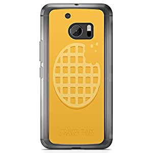 Loud Universe Bite Waffle Pie Stranger Things Pattern HTC 10 Case Stranger Things HTC 10 Cover with Transparent Edges