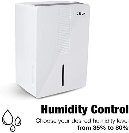 DELLA Portable Dehumidifier Certified Basements product image