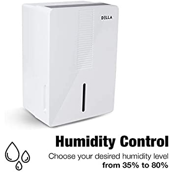 Amazon Com Della 1000 Sq Ft 30 Pint Dehumidifier