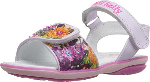 (Lelli Kelly Kids Baby Girl's Bella Sandal (Toddler/Little Kid) Lilac Fantasy 20 M EU )