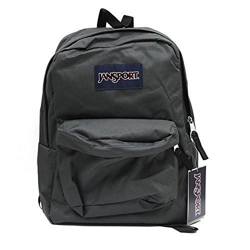 JANSPORT SUPERBREAK BACKPACK SCHOOL BAG - Forge Grey