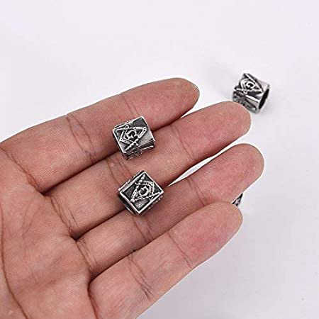 10 Engagement ring charms antique silver tone M231