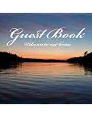 Guest Book: Welcome guest book to share memories and testimonials at your rental property (Matte Edition)