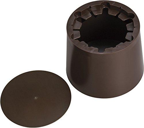 Kichler 16501BBRP Accessory LED Concrete Pour Kit, Bronzed Brass Polycarbonate