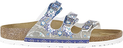 Birkenstock Florida Ancient Mosaic Taupe Birkoflor DD - 1009811 - Pointure: 40.0
