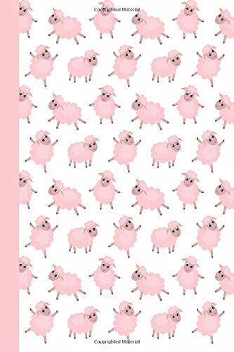 Sketchbook: Baby Sheep (Pink) 6x9 - BLANK JOURNAL WITH NO LINES - Journal notebook with unlined pages for drawing and writing on blank paper (Baby Animals Sketchbook Series) ebook