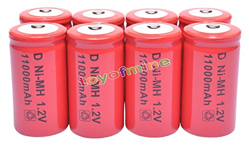 8x-d-size-12v-13000mah-ni-mh-red-color-rechargeable-battery-usa