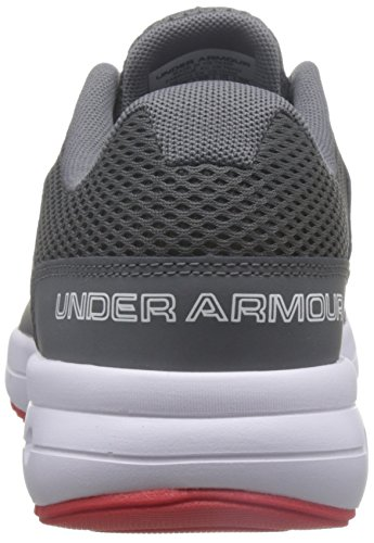 Under Armor Mens Dash 2 Graphite White Pomegrate