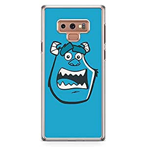 Loud Universe Face Monsters Inc Sully Samsung Note 9 Case Cartoon Design for Children Samsung Note 9 Cover with Transparent Edges