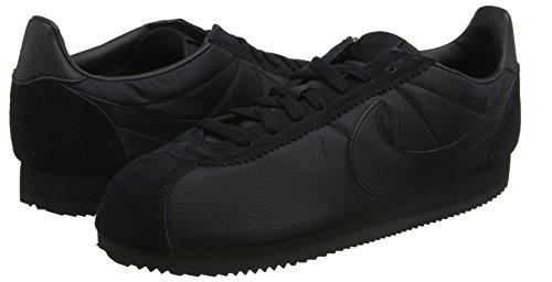 Classique En Cortez Noir Nike Basses Hommes blanc noir Noir 012 Nylon Baskets 5q7pI