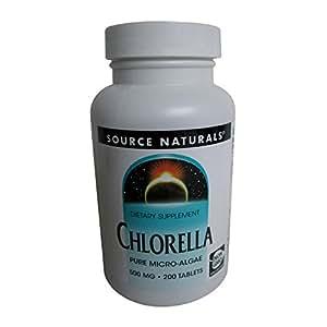 Amazon Com Source Naturals Broken Cell Wall Chlorella