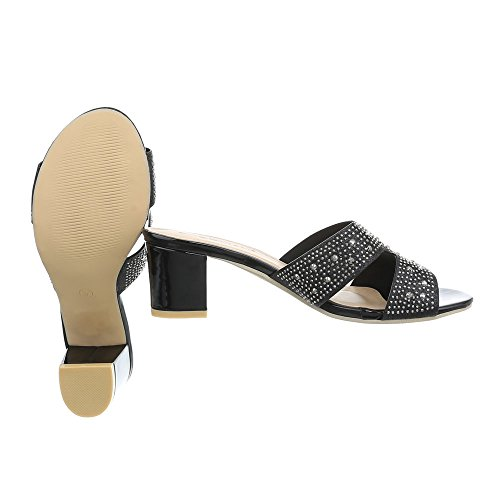 Para Mini Zapatos de Tac Sandalias Mujer Vestir Design Ital qEwCPUw