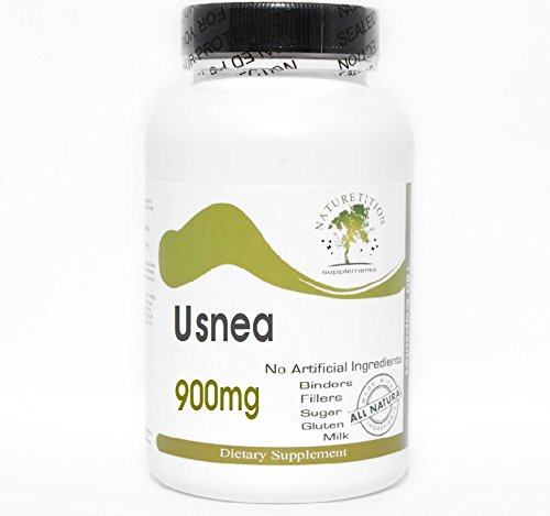 Usnea 900mg ~ 90 Capsules - No Additives ~ Naturetition Supplements