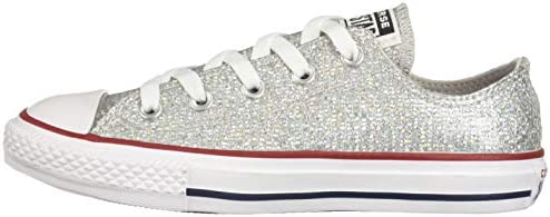 Converse Kids' Chuck Taylor All Star Low Top Sneakers, Grey
