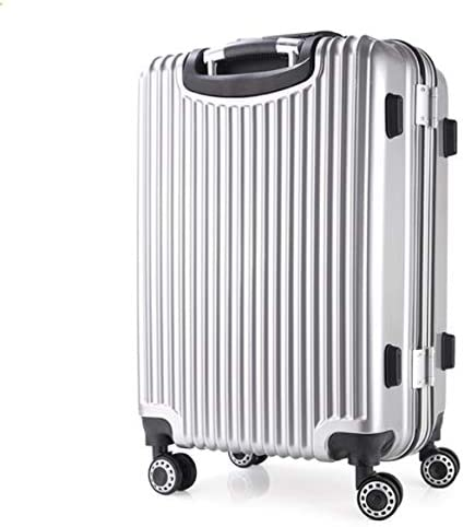 Color : Pink, Size : L Lcslj Universal Wheel Trolley case Aluminum Frame 24 inch Men and Women Suitcase Gift Box
