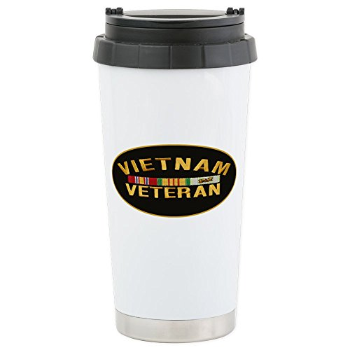 CafePress - Vietnam Veteran - Stainless Steel Travel Mug, Insulated 16 oz. Coffee Tumbler