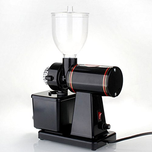 Generic Commercial Home 110v 220v Electric Mini Fully Automatic Burr Mill Espresso Coffee Grinder Maker Machine