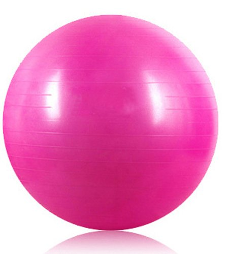 Kabalo Pink 65cm ANTI BURST GYM EXERCISE SWISS YOGA FITNESS BALL for PREGNANCY BIRTHING, etc (including pump)