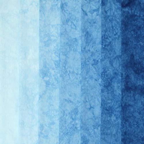 - Hand dyed quilt cotton gradient blue