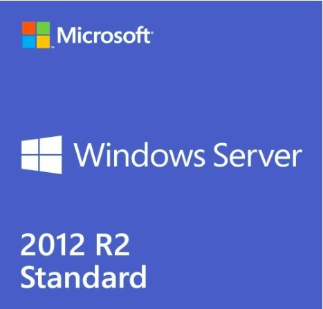 Win Server 2012 R2 Standard OEM (2 CPU/2 VM) - Base License by MS