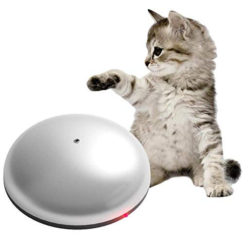 fatdaa Pet Cat Hair Removal Machine – Funny Sweeping Robot Mini Automatic Vacuum Cleaner and Mop, Interactive Cat Teaser…