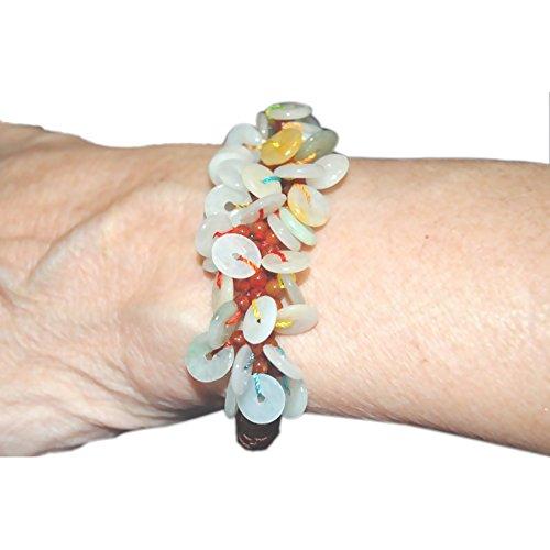 Jade Disc Beads - 6