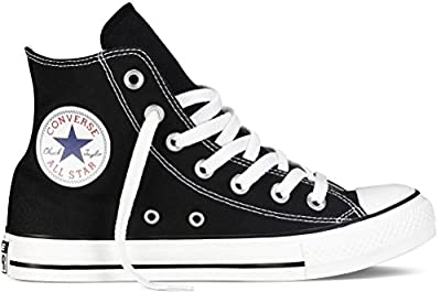 Converse Chuck Taylor All Star Hi Top (US Men 13 / US Women 15, Black/White)