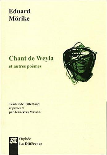 Livre gratuits Chant de Weyla et autres poèmes epub, pdf