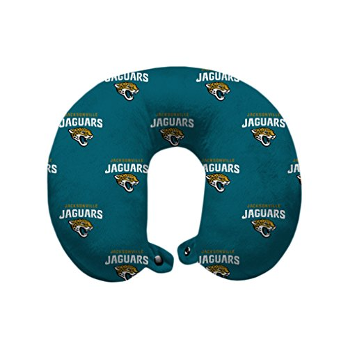 Bulldogs Pillow Santa (Pegasus Sports NFL Jacksonville Jaguars U-Neck Polyester Travel Pillow)