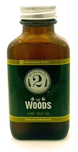 - The Woods Aftershave Tonic - Cedarwood and Pine - Essential Oil Scented Aftershave Tonic by The 2 Bits Man (3 oz.)