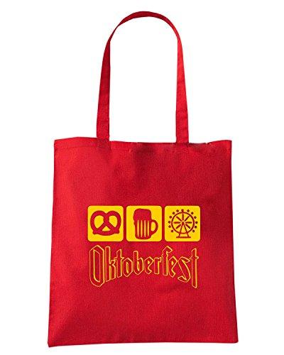 T-Shirtshock - Bolsa para la compra BEER0006 Rojo