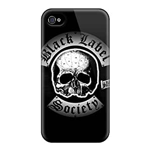 Defender Case For Iphone 4/4s, Black Label Society Pattern