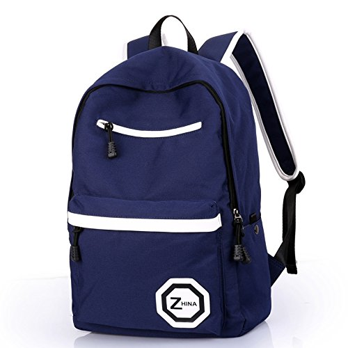 bandolera otomoll marino bolso bolsa Loisirs bandolera bolsa azul en marino lienzo viajes Fashion azul RqCRz1wHr