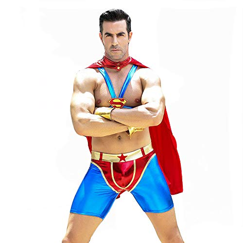 Sexy Doctor Costumes Set for Men (one Size, Superman)