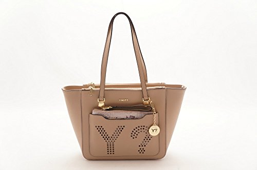 Borsa Shopping Bag M Orange d/beige