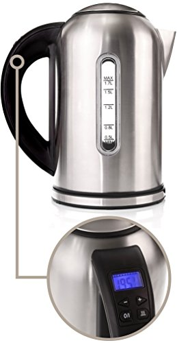 Electric Kettle with 4 Button Touch Display Var...