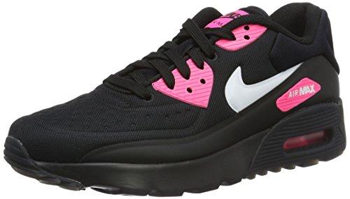 NIKE AIR Max 90 Ultra, Noir/Rose - 36,5 -  844600-004_Negro (Black / White-Hyper Pink)
