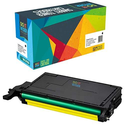 Do it Wiser Compatible CLT-Y506L Toner for Samsung CLP-620ND CLX-6220FX CLX-6250FX CLP-620 CLP-670 CLP-670N CLP-670ND | Yellow ()