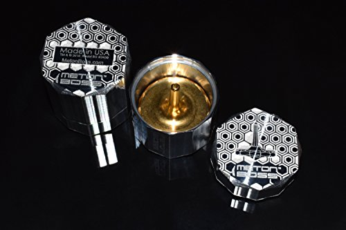 MetonBoss 24Kt Gold Plated Top Spinner with Perfected Grip - Precision Designed Durable Gift - Made with Stainless Steel (Polished) by MetonBoss (Image #5)