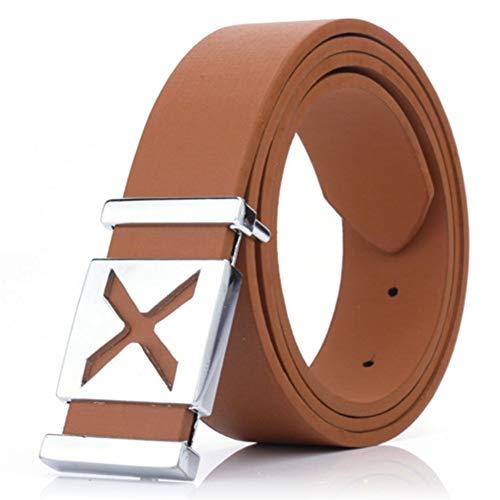 [해외]Daxin 남아용 벨트 12-20 슬라이드 버클 가죽 벨트 청바지용 솔리드 컬러 벨트 / Daxin Boys Belts 12-20 Slide Buckle Leather Belt for Jeans Solid Color Belts for Kids