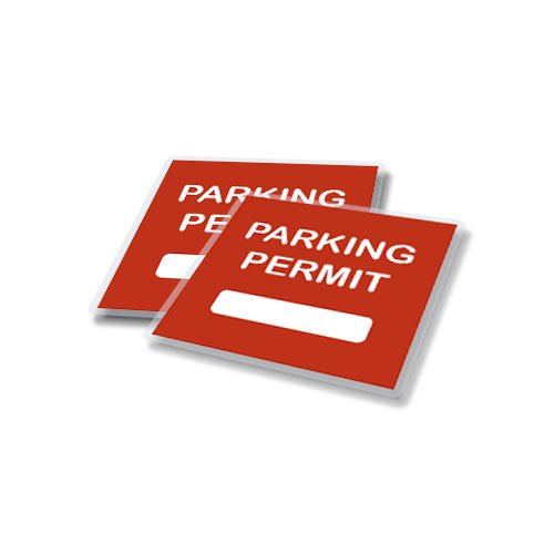 TruLam 5 Mil Parking Permit Laminating Pouches 4 x 4 Inches,