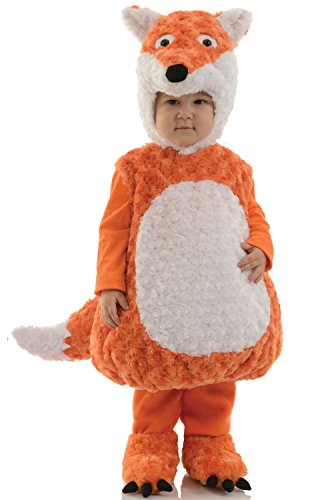 Fox Halloween Costumes (Underwraps Kid's Underwraps Baby's Fox Costume, X-Large Childrens Costume, orange, X-Large)