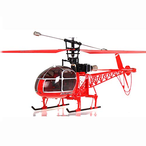 NiGHT LiONS TECH WLtoys V915 4CH 2.4G RC Helicopter with Gyroscope ERT Mode2 Red]()