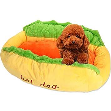 Uuq Alfombrilla Portátil para Mascotas, Cama para Perros En Interiores, Perrera para Perros,