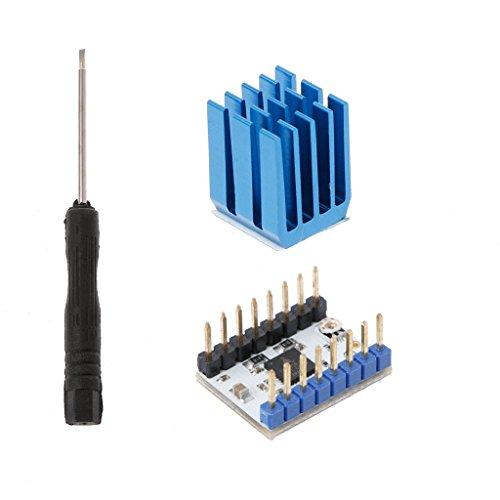 ULKEME TMC2208 Stepper Motor Driver Module Heat Sink Screwdriver Kit For 3D Printing by ULKEME