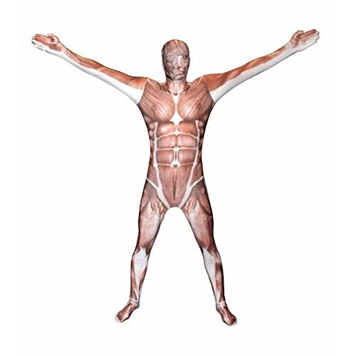 Best Morphsuit (Muscle Morphsuit Costume - size Medium - 4'7-5'2 (138cm -158cm))